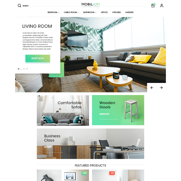 Mobilium : Mobile First PrestaShop Theme